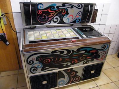 jukebox musikbox verstärker nsm fanfare